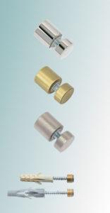 Glass-Holder, металлические дистанционные держатели