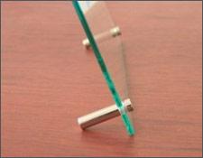 Glass-Holder, настольные металлические держатели, держатели для табличек