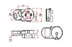 LST, ламподержатели, патроны для люминесцентных ламп