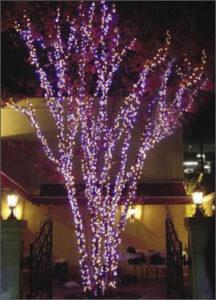 световая мерцающая гирлянда, LED-гирлянда