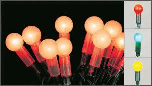 новогодняя гирлянда, LED-гирлянда, Шарики
