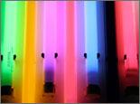 люминесцентные лампы, цветные