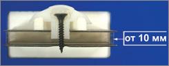 термошайба для монтажа листового материала на каркас