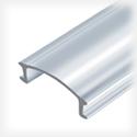 Профиль алюминиевый, анодированный ЛПУ 17