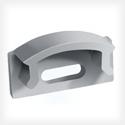 Профиль алюминиевый, анодированный ЛП 7