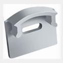 Профиль алюминиевый, анодированный ЛП 12